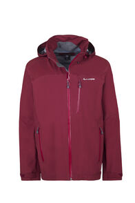 Macpac Traverse Pertex®Rain Jacket - Men's, Syrah, hi-res