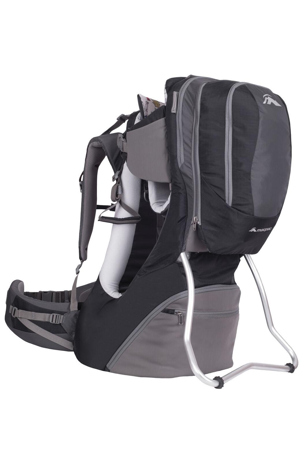 Macpac Vamoose Child Carrier, Black/Forged Iron, hi-res