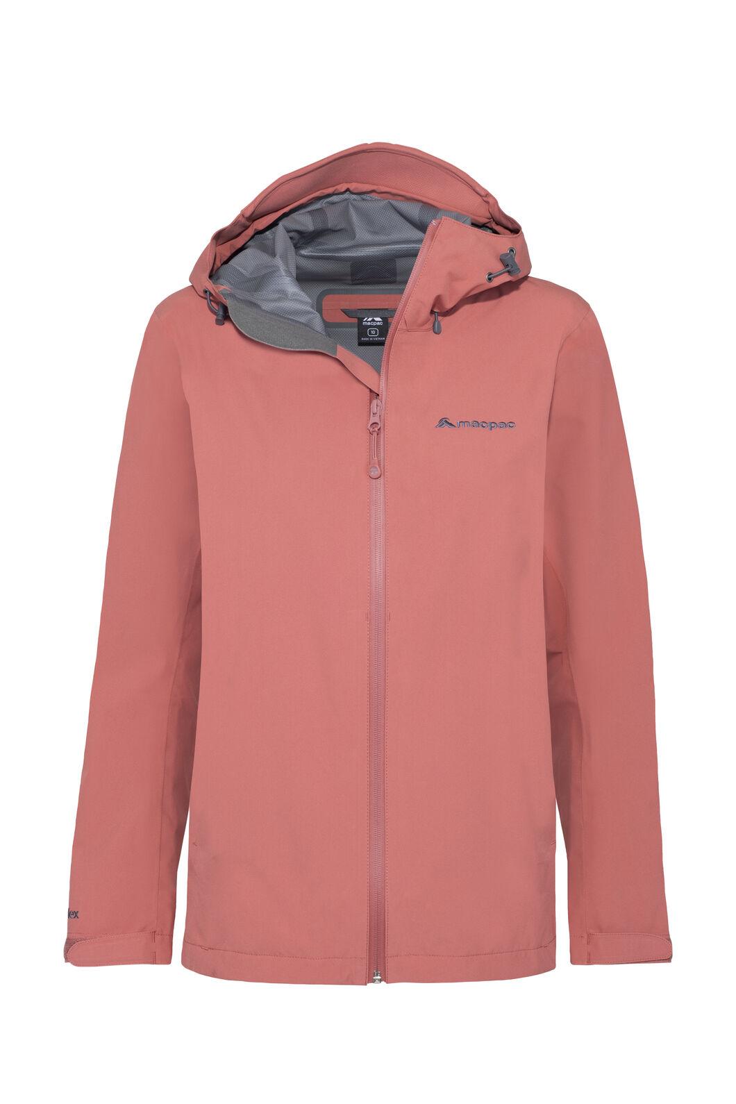 Macpac Dispatch Rain Jacket — Women's, Dusty Cedar, hi-res