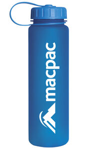 Macpac Soft Touch Water Bottle 600mL, Blue, hi-res