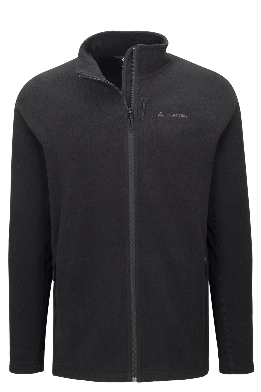 Macpac Men's Tui Polartec® Micro Fleece® Jacket, Black, hi-res