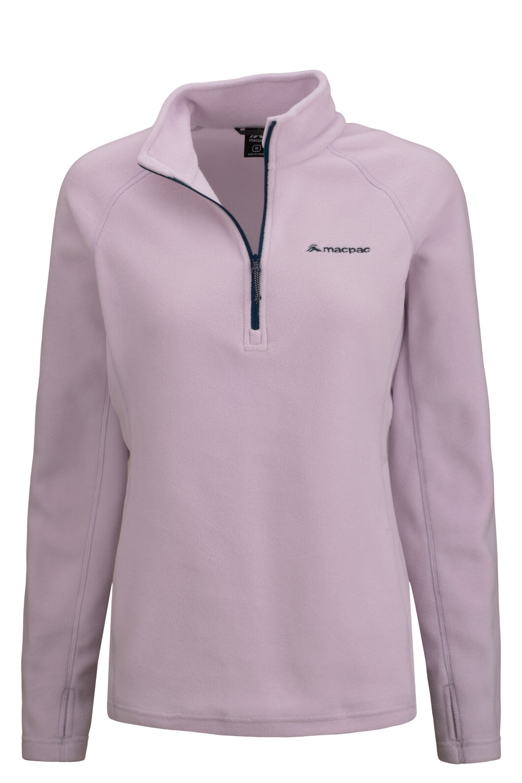 Macpac Tui Polartec® Micro Fleece® Pullover — Women's, Orchid Hush, hi-res
