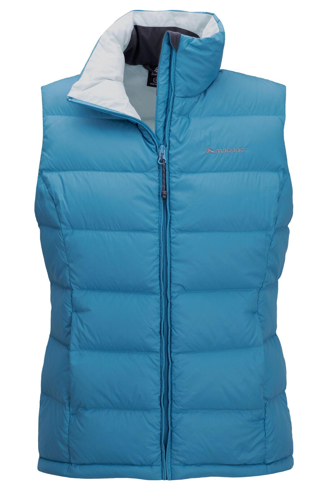 Macpac Women's Halo Down Vest, Blue Moon, hi-res
