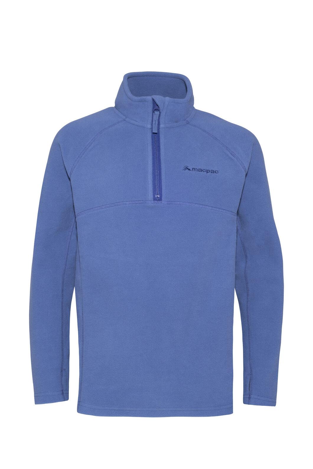 Macpac Tui Polartec® Fleece Pullover — Kids', True Navy, hi-res