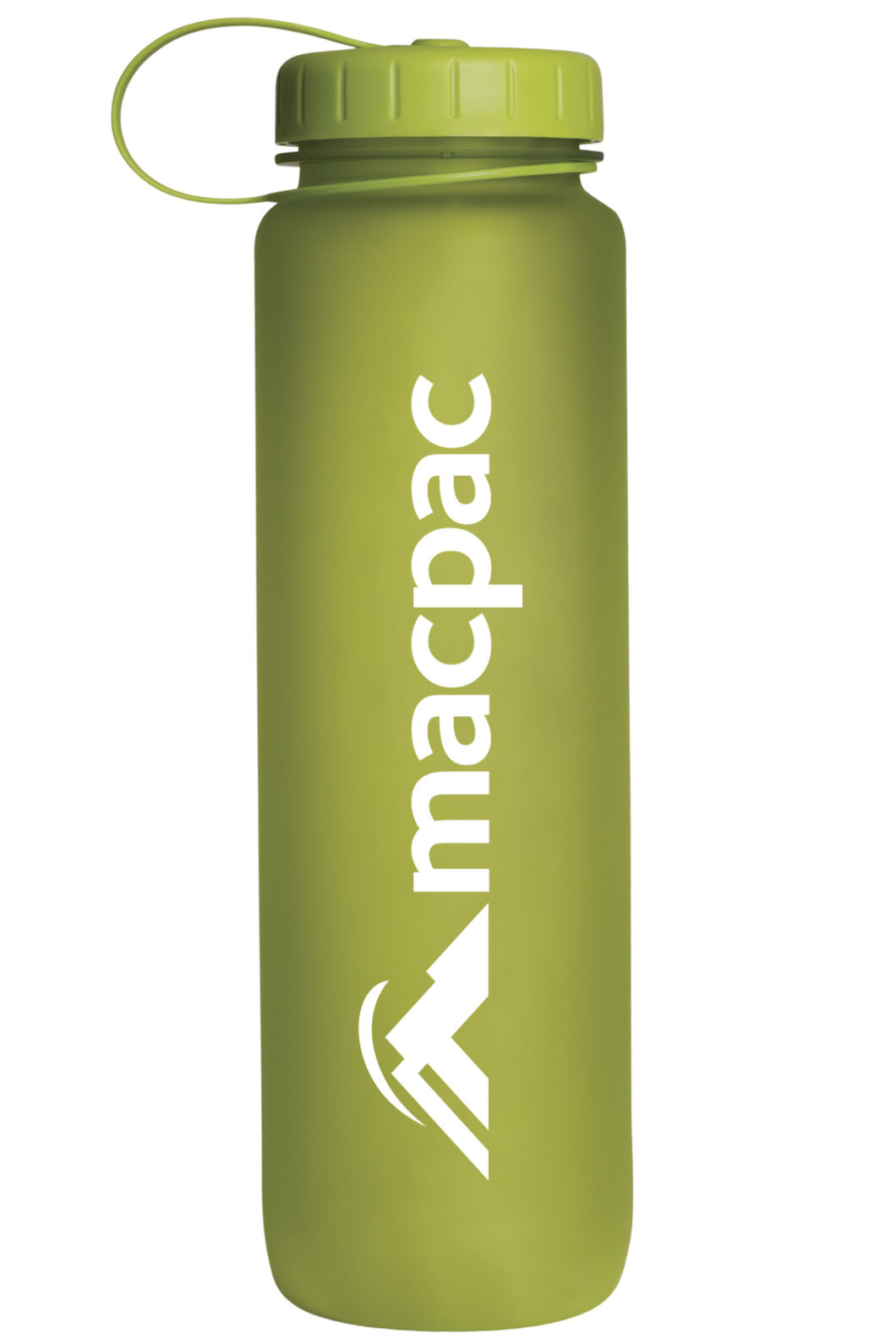 Soft Touch Water Bottle 1L, Green, hi-res