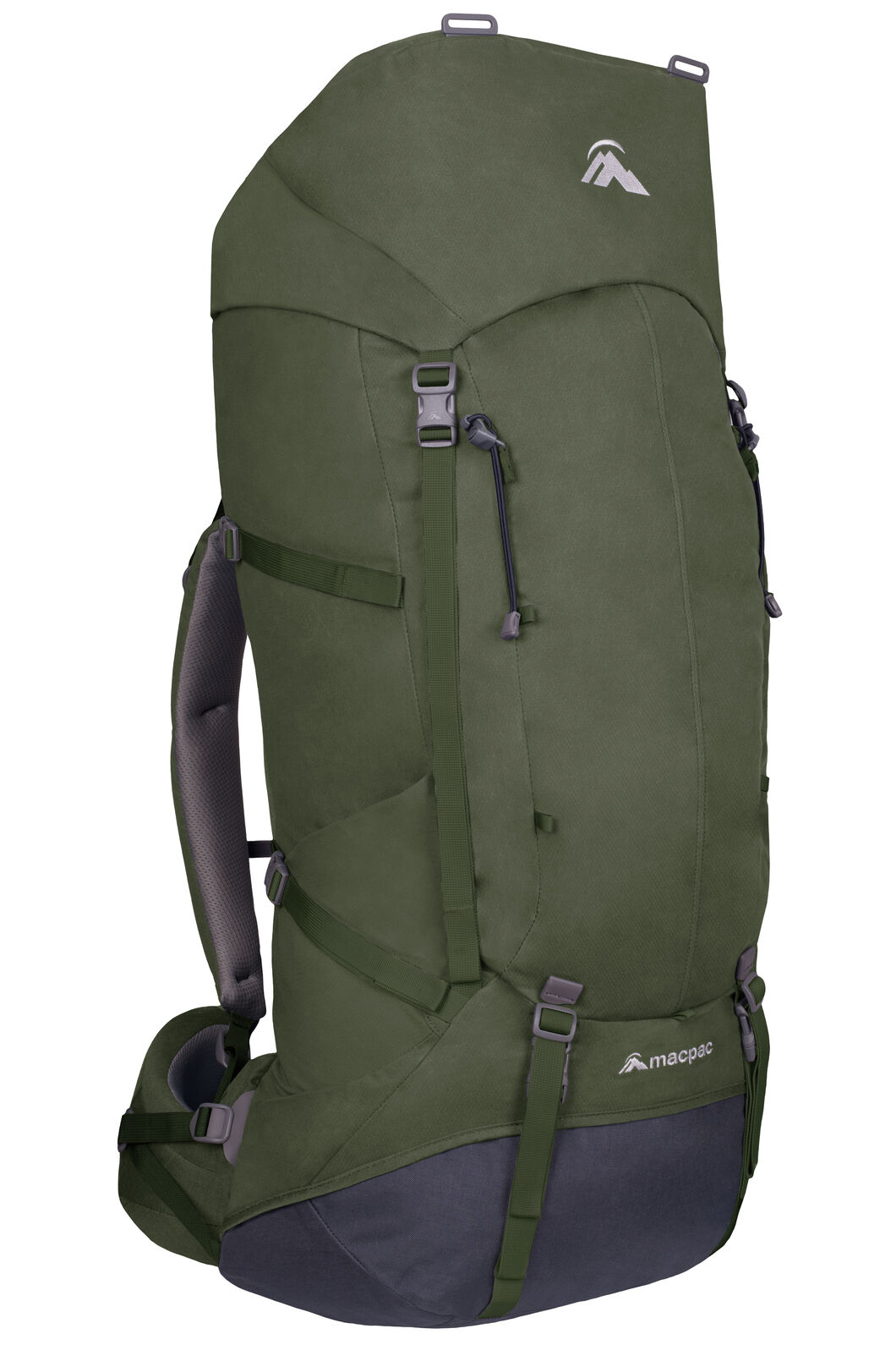 Macpac Cascade 65L AzTec® Pack V2, Forest Night, hi-res