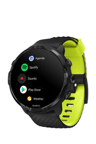 Suunto 7 GPS Sports Watch, Black/Lime, hi-res