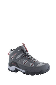 Hi-Tec Bryce II Mid WP Boots — Men's, Charcoal/Grey/Fired Brick, hi-res