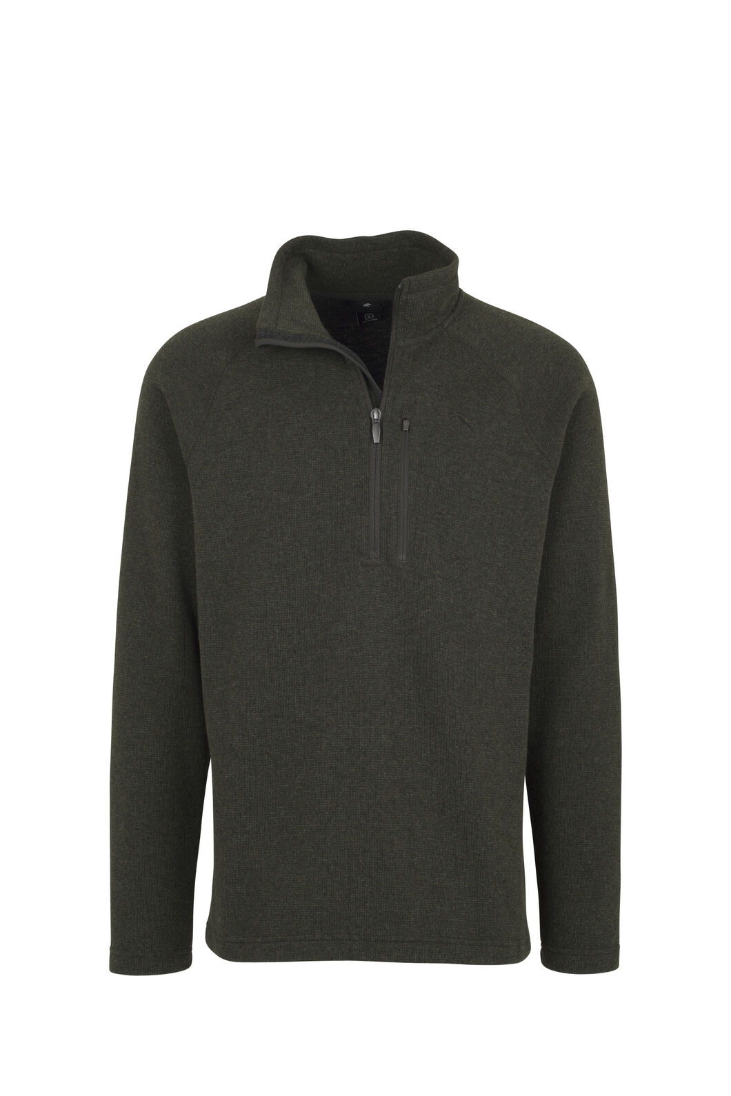 Macpac Guyon Half Zip Pullover - Men's, Green, hi-res