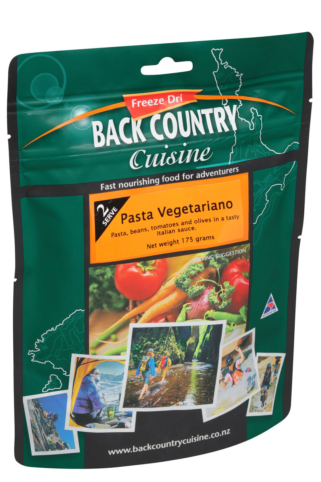 Back Country Pasta Vegetariano - 2 Serves, None, hi-res