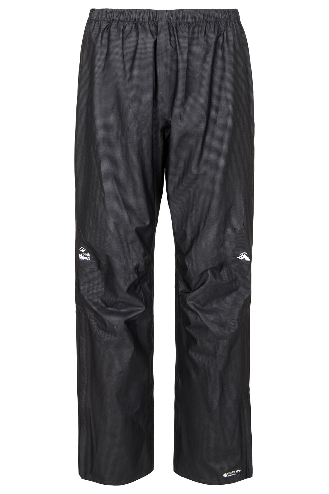 Macpac Men's Nazomi Pertex® Rain Pants, Black, hi-res