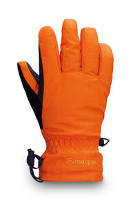 Macpac Kids' Spree Reflex™ Ski Gloves, Russet Orange/Orange Flame, hi-res