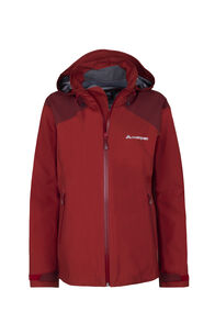 Macpac Traverse Pertex® Rain Jacket - Women's, Red Ochre, hi-res