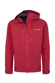 Macpac Fitzroy Alpine Series Softshell Jacket — Men's, Samba, hi-res