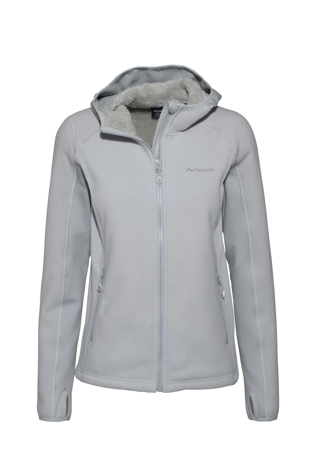 Macpac Mountain Hooded Jacket — Women's, High Rise, hi-res