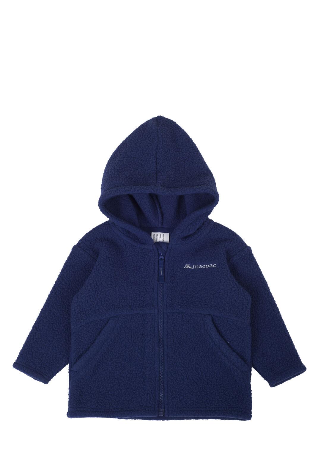 Macpac Acorn Fleece Jacket - Baby, Medieval Blue, hi-res