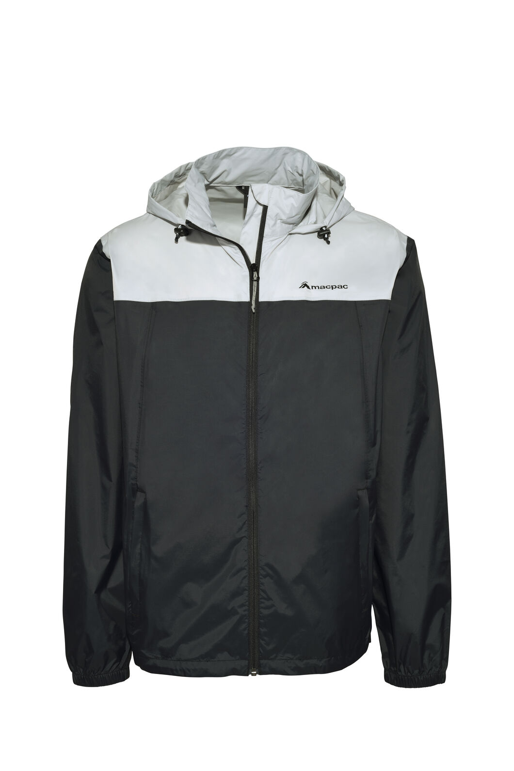 Macpac Pack-It-Jacket — Unisex, Black/High RIse, hi-res