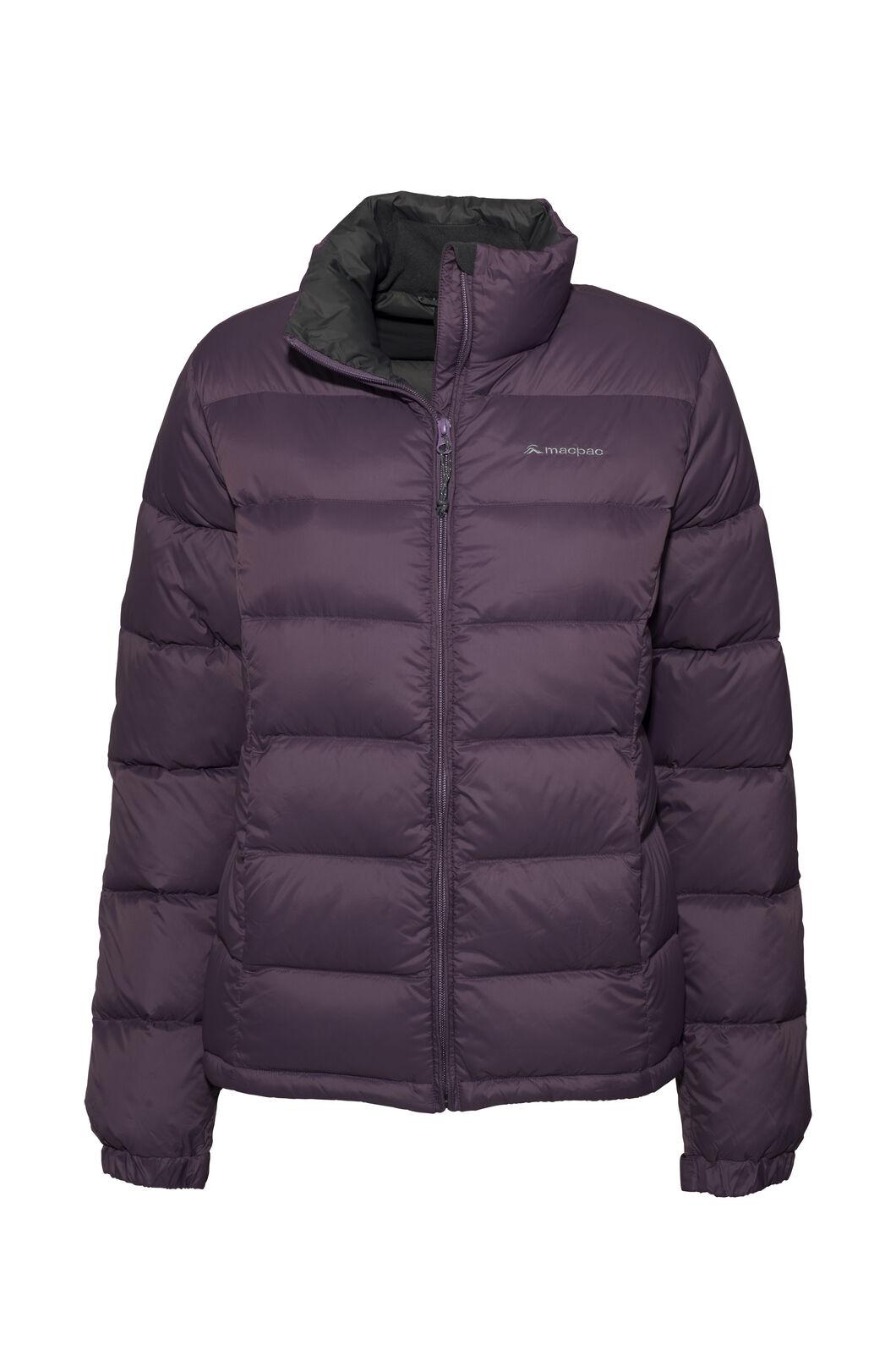 Macpac Halo Down Jacket — Women's, Vintage Violet, hi-res