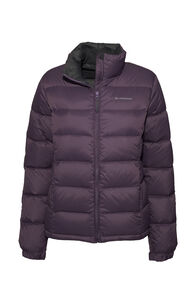 Macpac Halo Down Jacket — Women's, Vintage Violet, hi-res