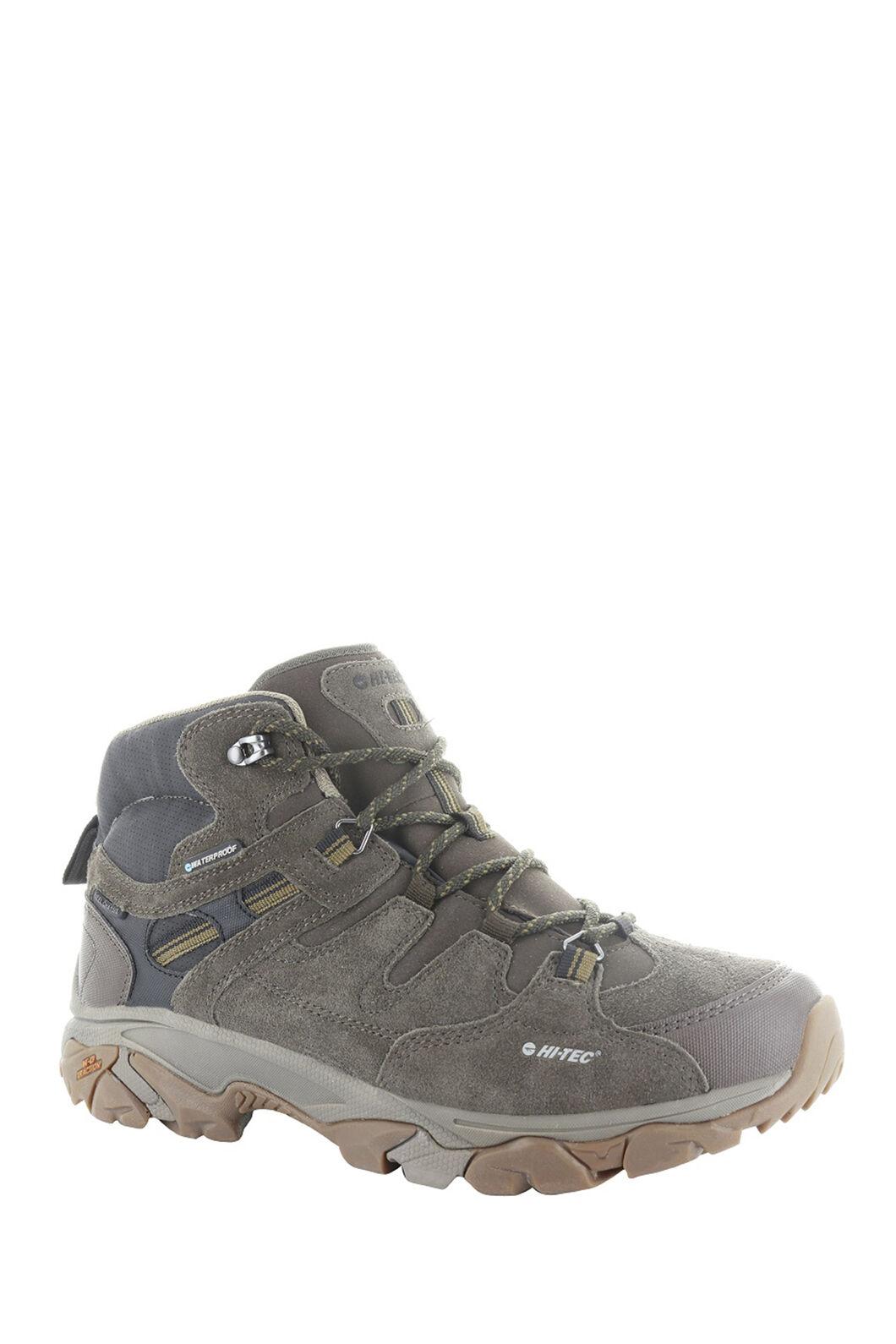 Hi-Tec Men's Ravus Adventure Hiking Boots, Chocolate/Tan, hi-res