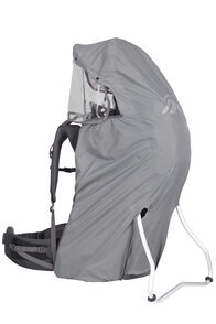 Macpac Rainbow Rain Cover — Child Carrier Compatible, Lt Grey, hi-res
