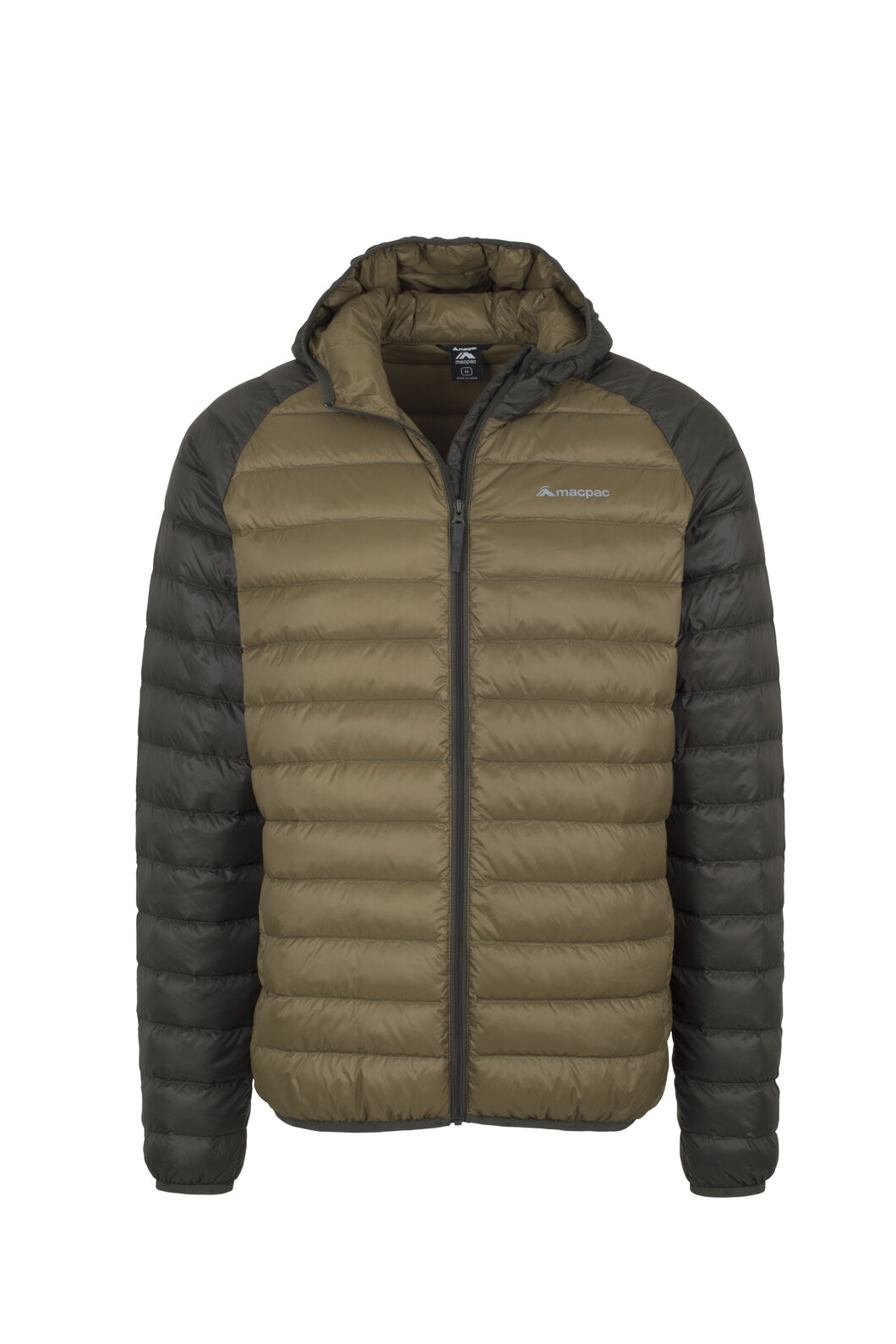 Macpac Uber Hooded Down Jacket - Men's, Peat, hi-res