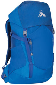 Macpac Torlesse 30L Junior Hiking Pack, Victoria Blue, hi-res