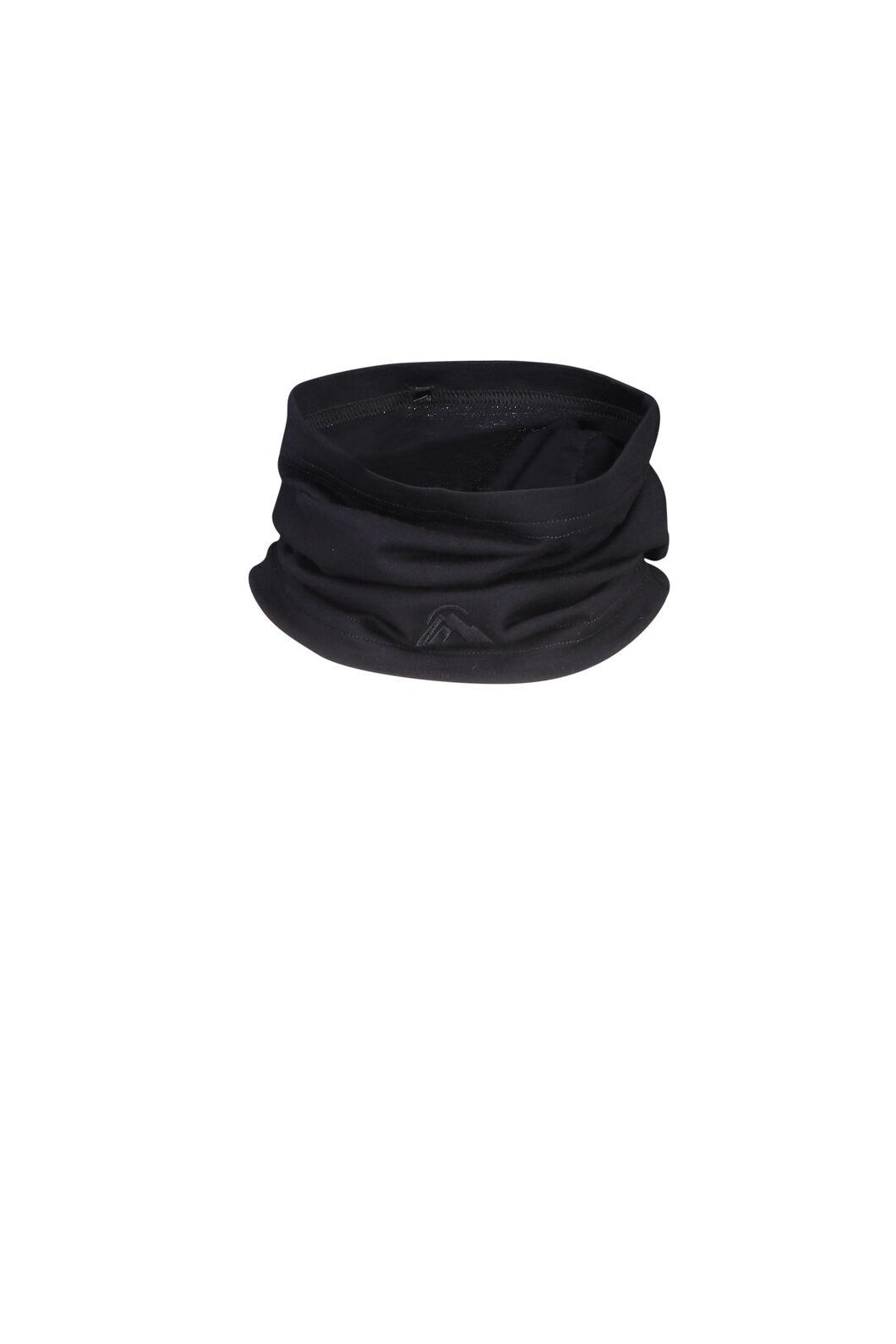 Macpac Merino 150 Neck Gaiter, Black, hi-res
