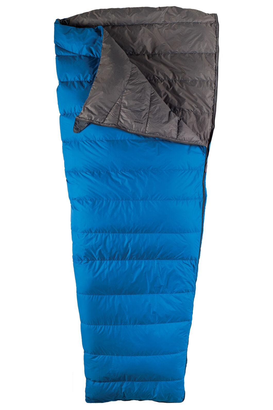 Macpac Escapade Down 150 Sleeping Bag - Standard, Classic Blue, hi-res
