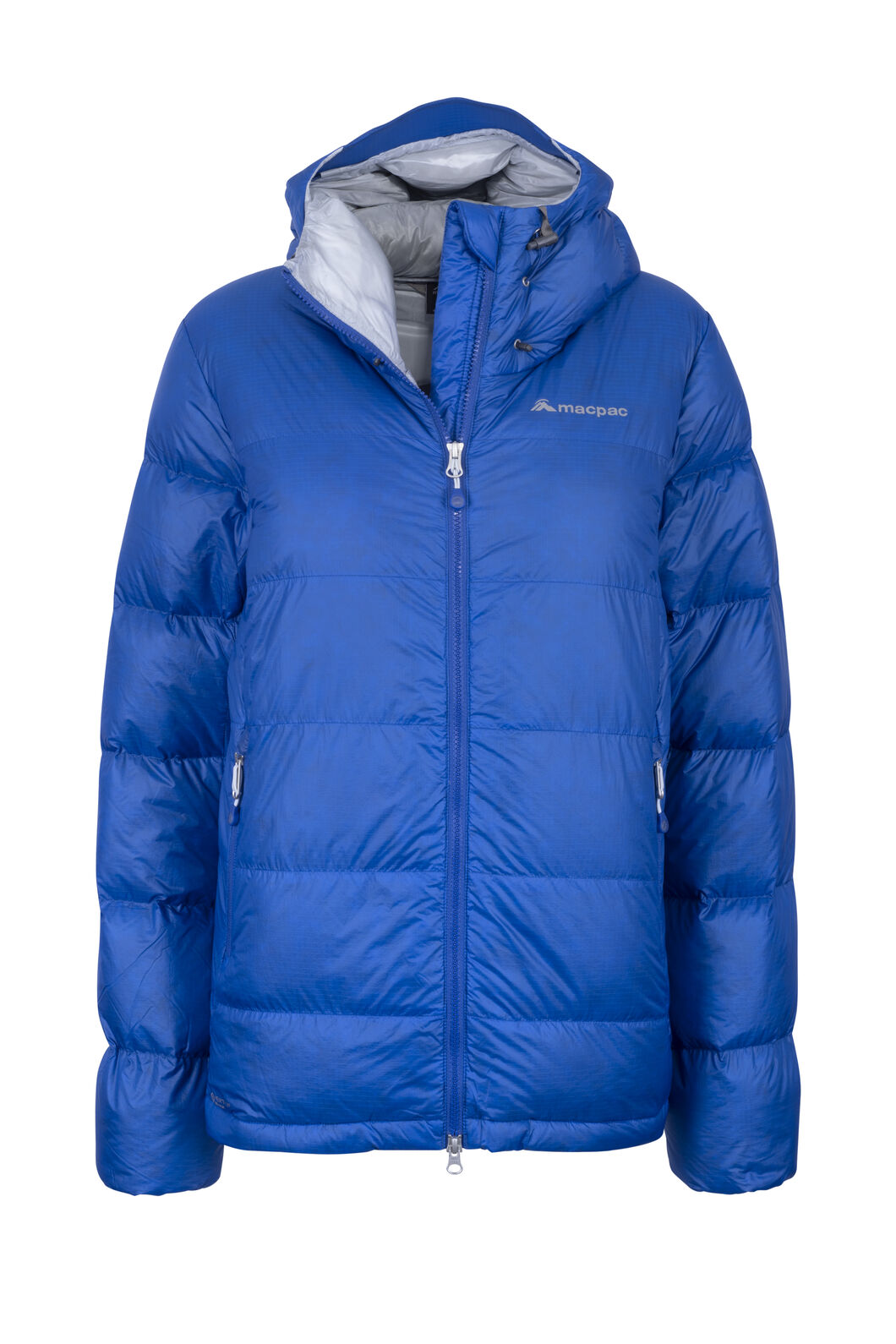 Macpac NZAT Arrowsmith HyperDRY™ Hooded Down Jacket — Women's, Nautical Blue, hi-res