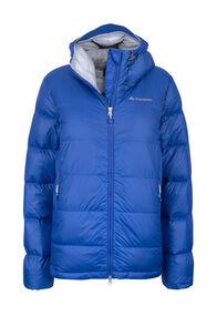 Macpac NZAT Arrowsmith HyperDRY™ Hooded Down Jacket — Women's, Nautical Blue, hi-res