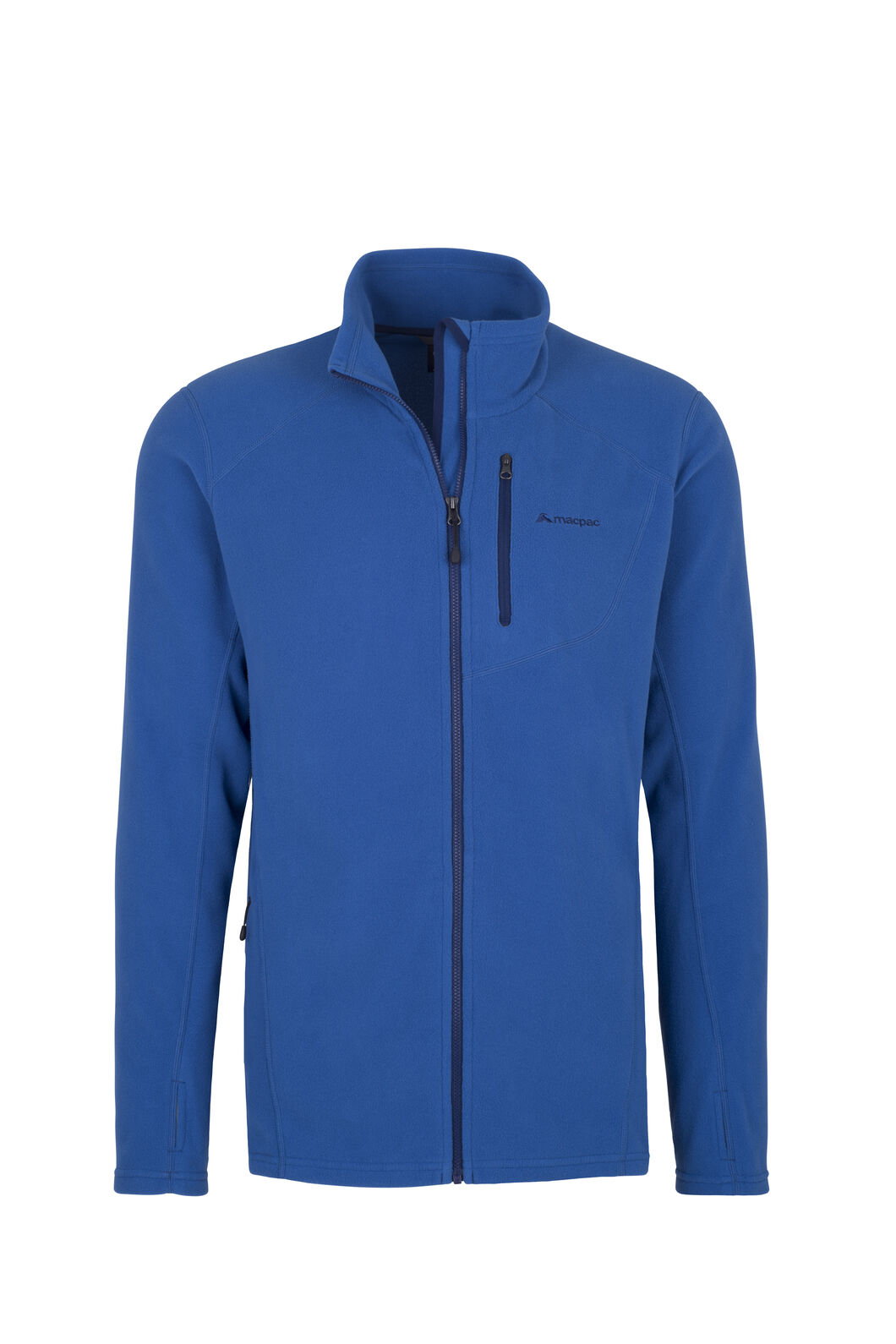 Macpac Kea Polartec® Micro Fleece® Jacket - Men's, True Blue, hi-res