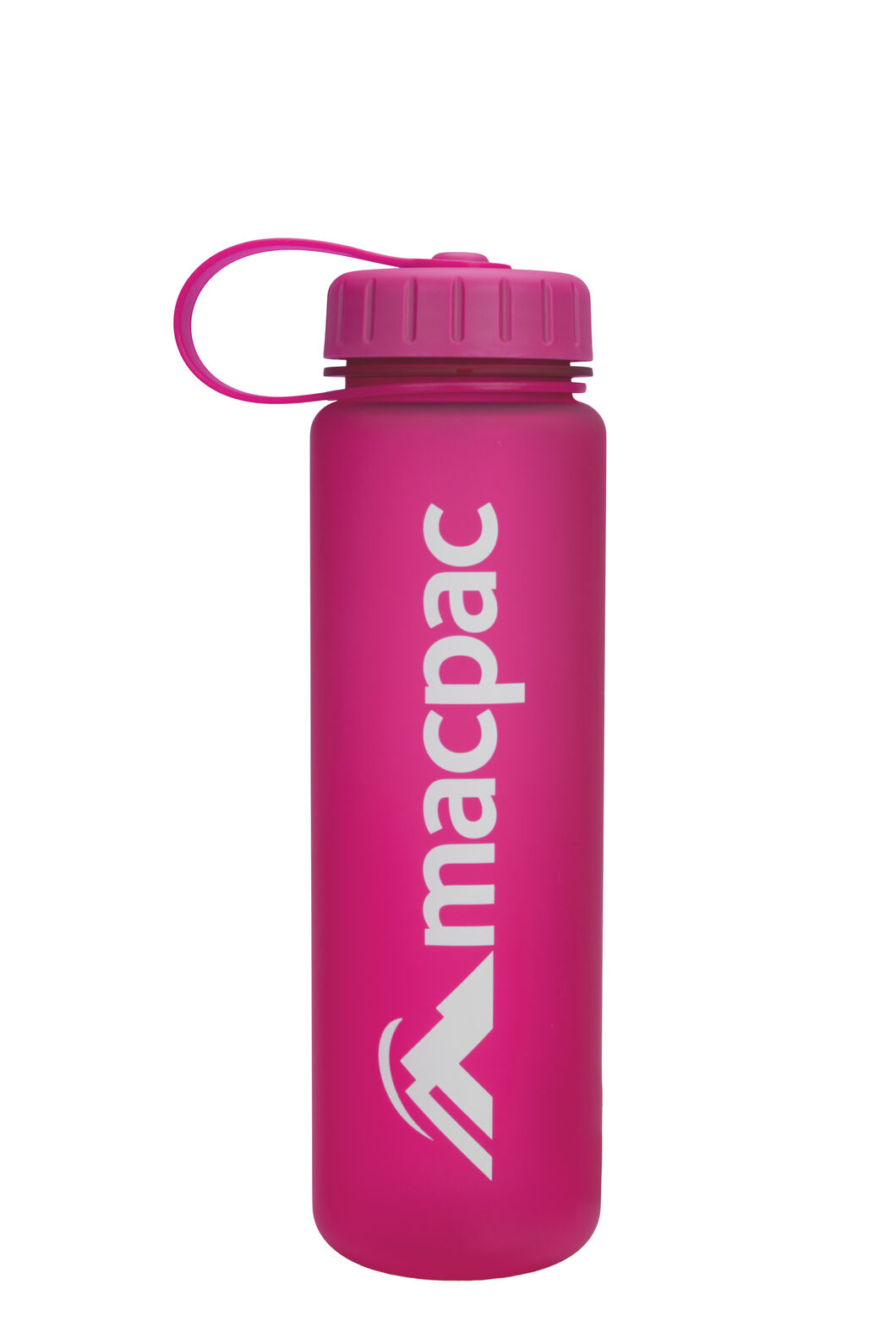Macpac Soft Touch Water Bottle — 600ml, Pink, hi-res