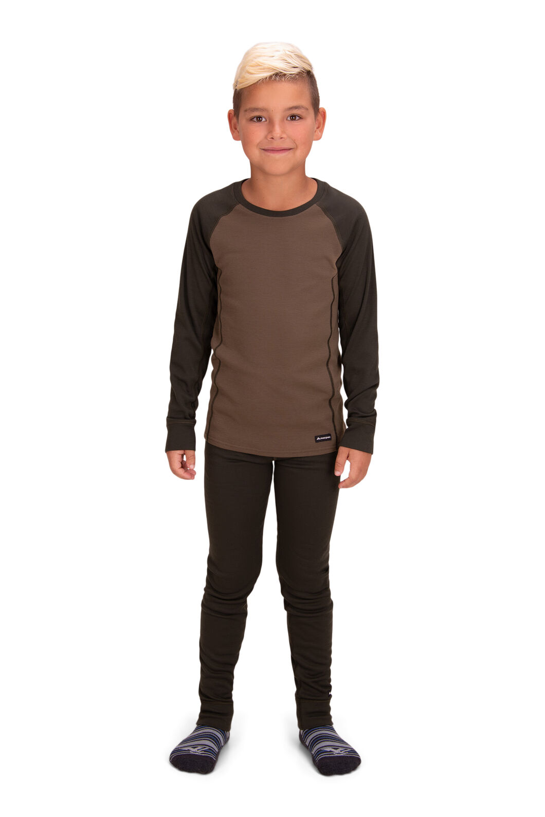 Macpac Kids' Geothermal Pants, Rosin, hi-res