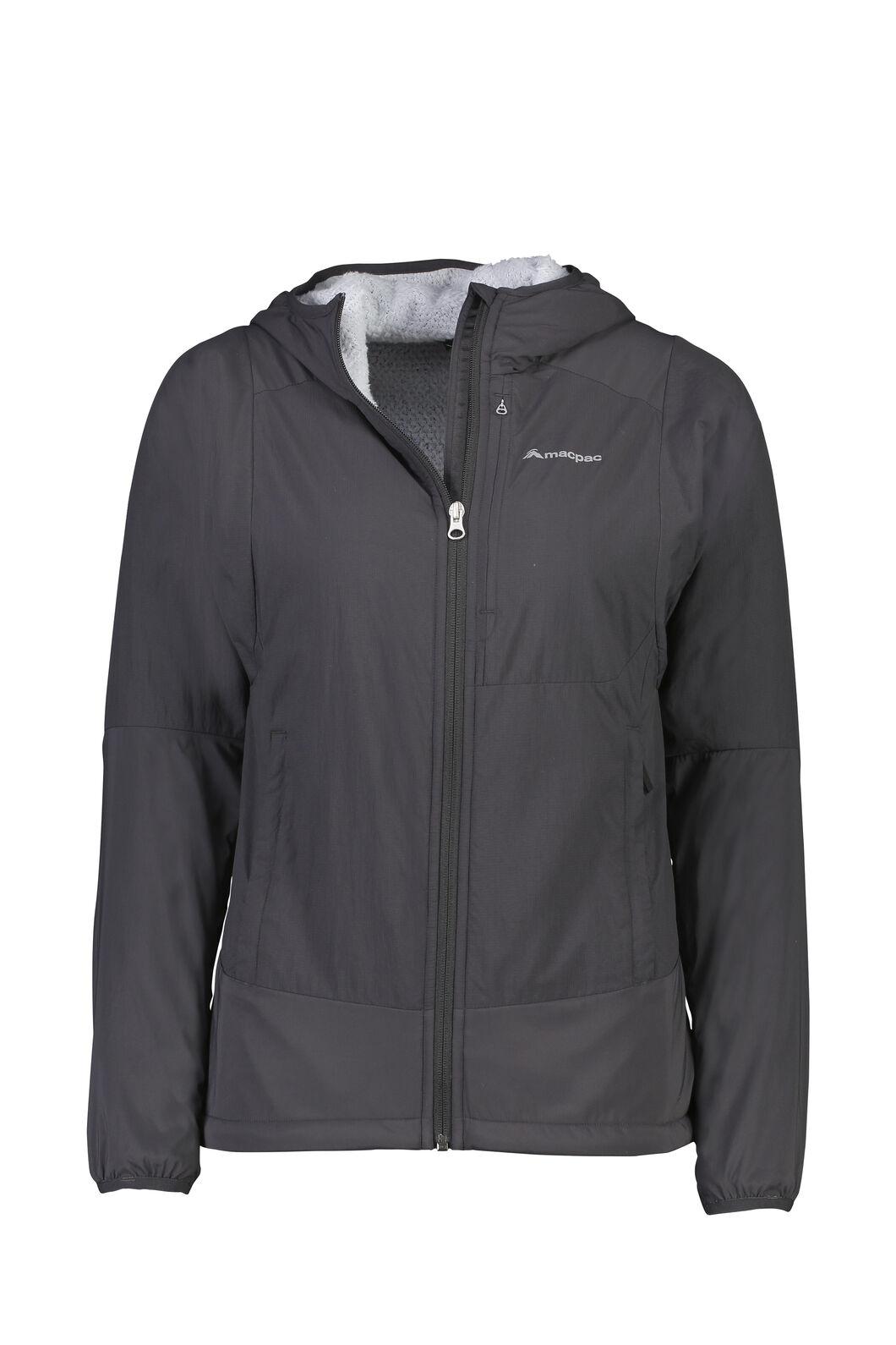 Macpac Pisa Polartec® Hooded Jacket — Women's, Phantom, hi-res
