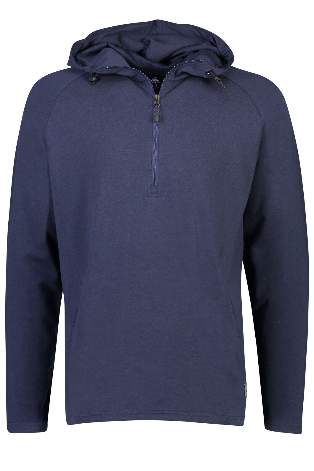 Macpac Merino 230 Long Sleeve Hoody - Men's, Black Iris, hi-res