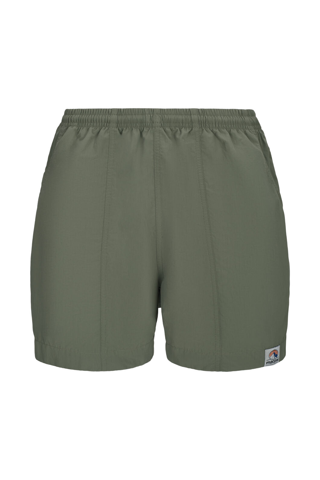 Macpac Winger Shorts — Men's, Deep Lichen Green, hi-res
