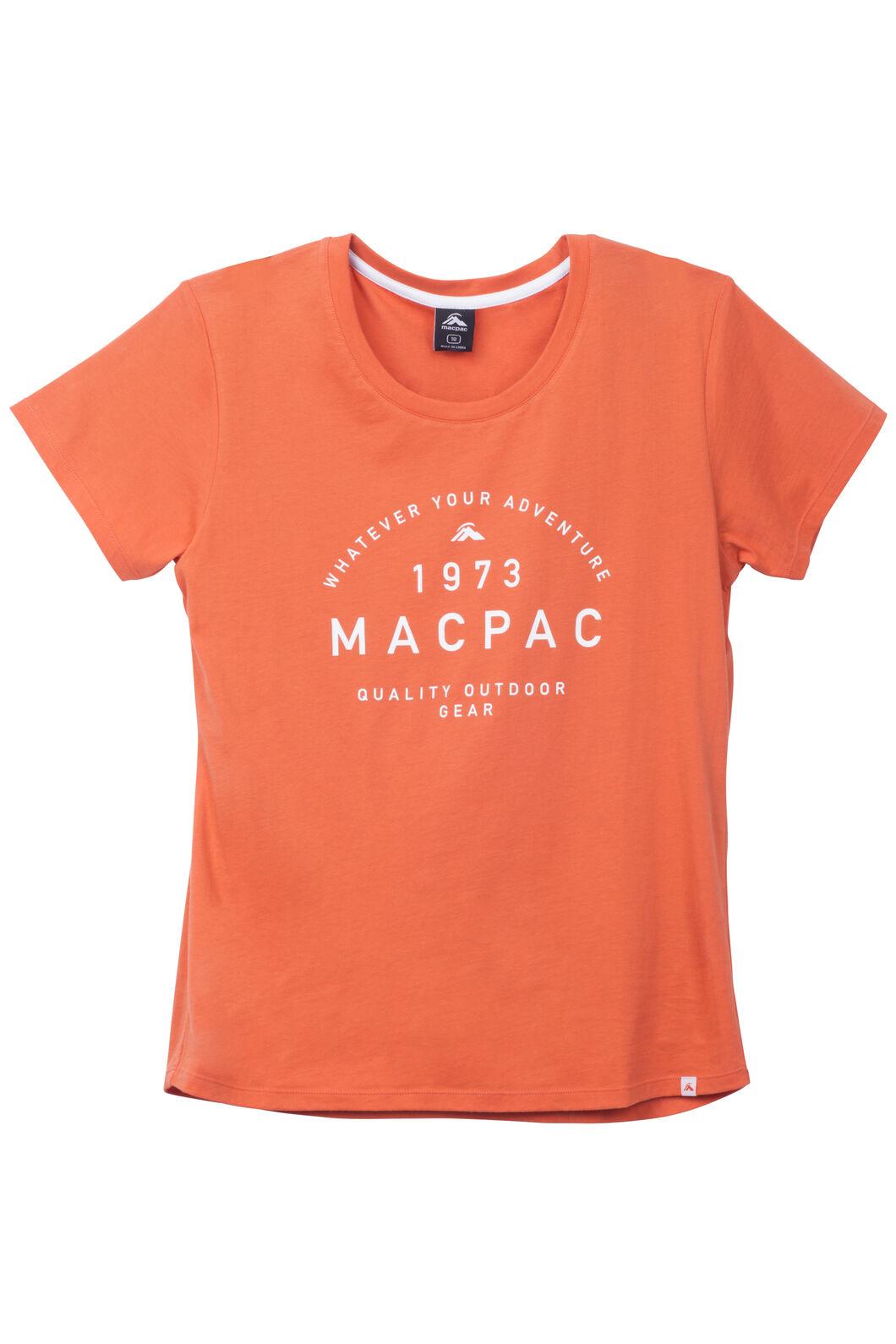Macpac Adventure Organic Cotton Tee - Women's, Koi, hi-res