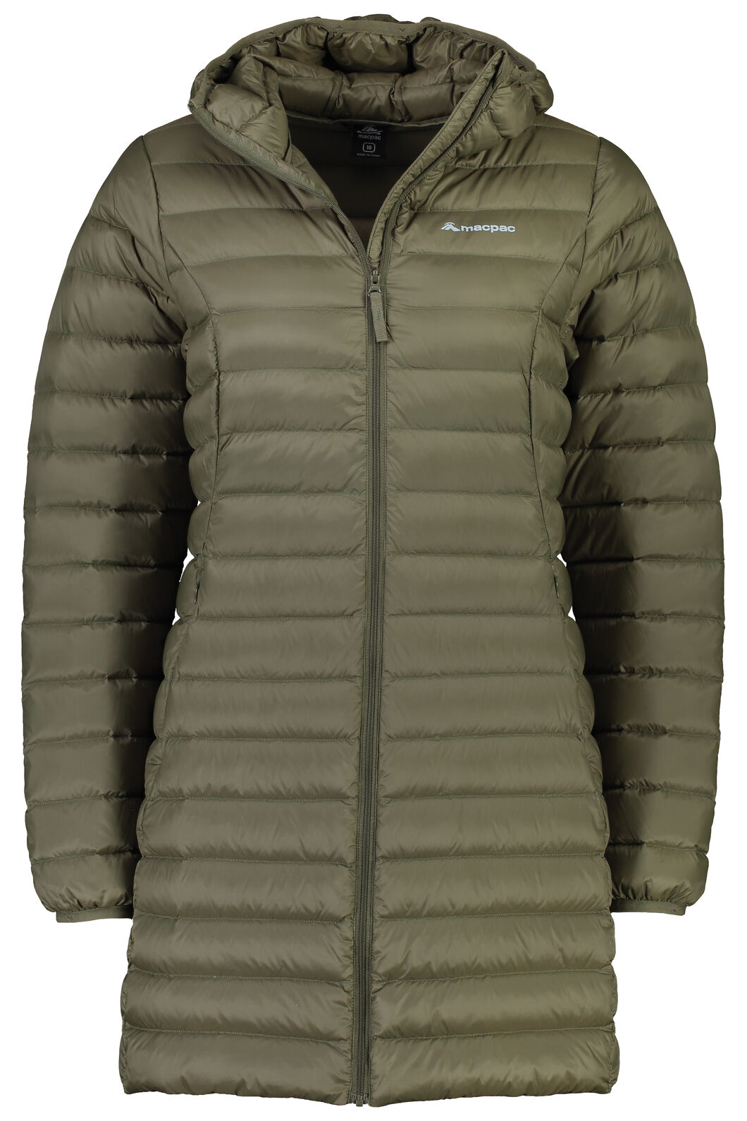 Macpac Uber Light Down Coat - Women's, Grape Leaf, hi-res