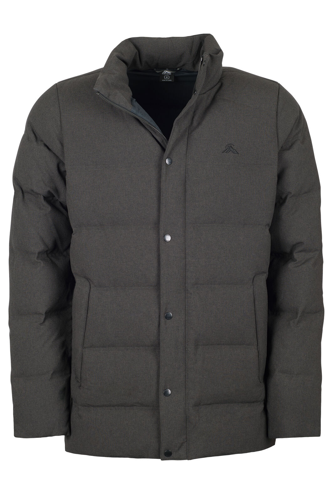 Macpac Meridian Down Jacket - Men's, Charcoal Marle, hi-res