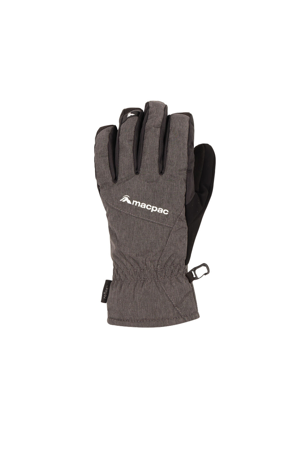Piste Gloves V2, Black, hi-res