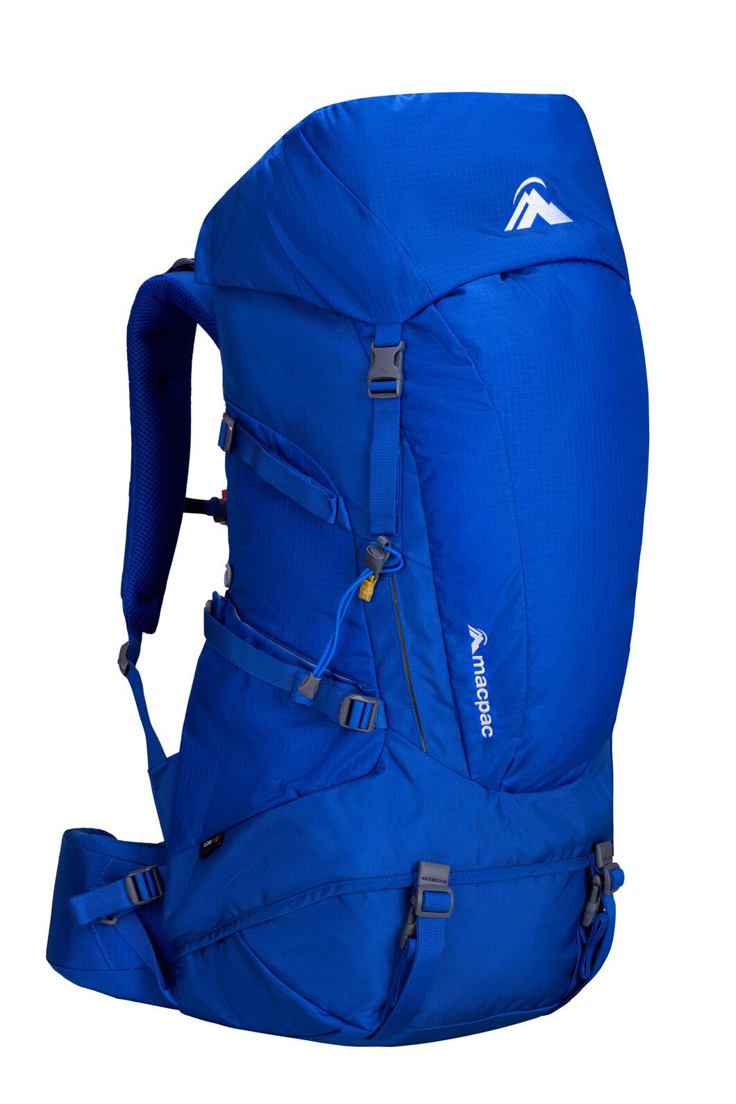 Torlesse 50L Hiking Pack, Nautical Blue, hi-res