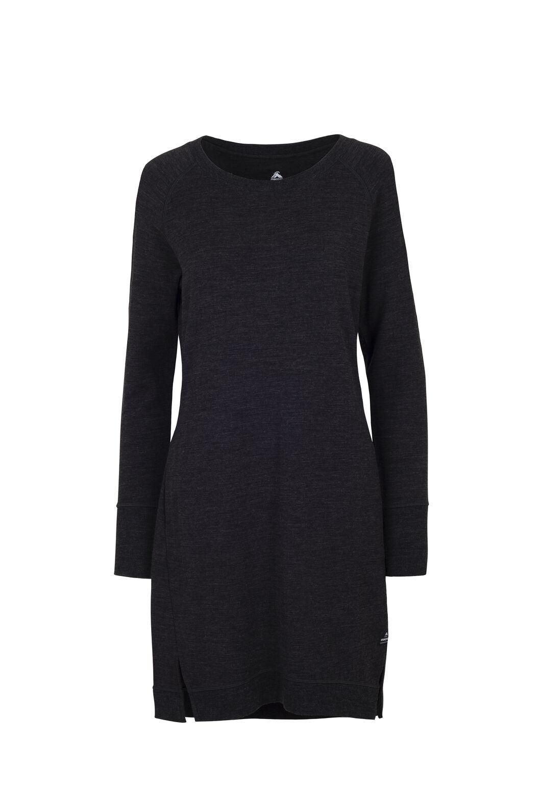 Macpac Platform Dress - Women's, Charcoal Marle, hi-res