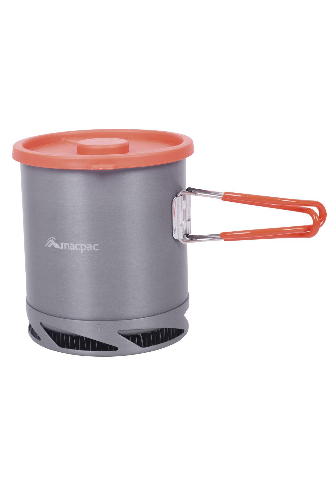 Macpac Heat Exchange Pot, Orange, hi-res
