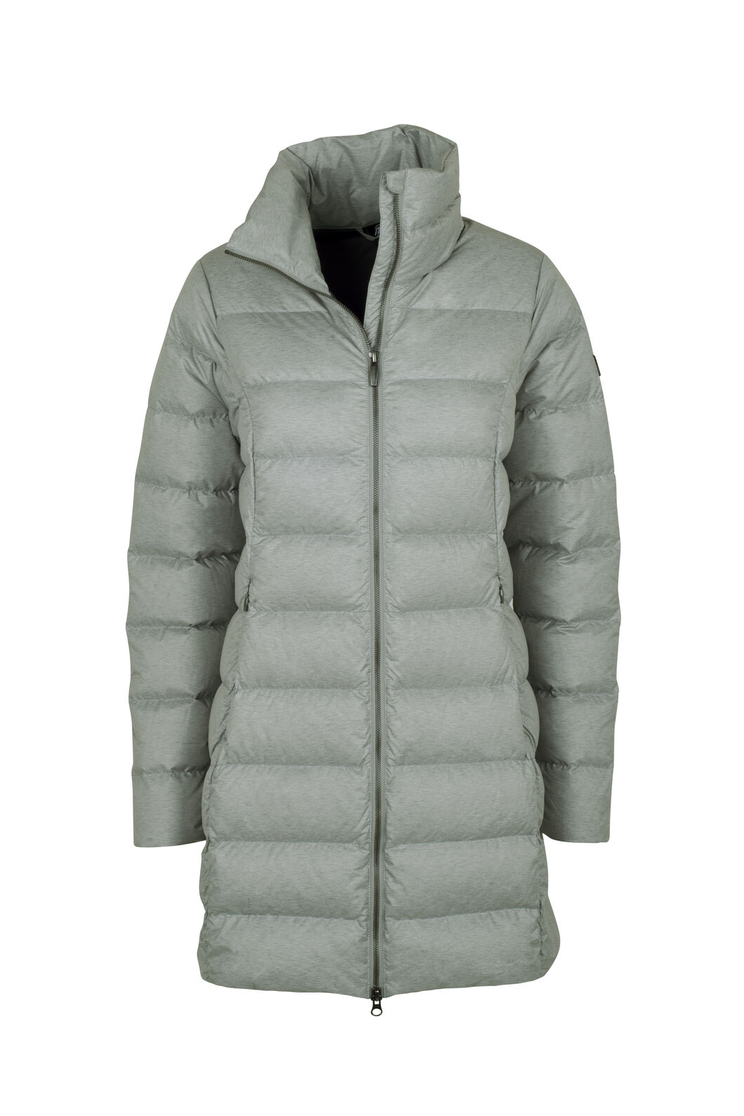 Macpac Demi Down Coat - Women's, Grey Morn Melange, hi-res