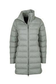 Macpac Demi Down Coat - Women's, Grey Morn Melange, hi-res
