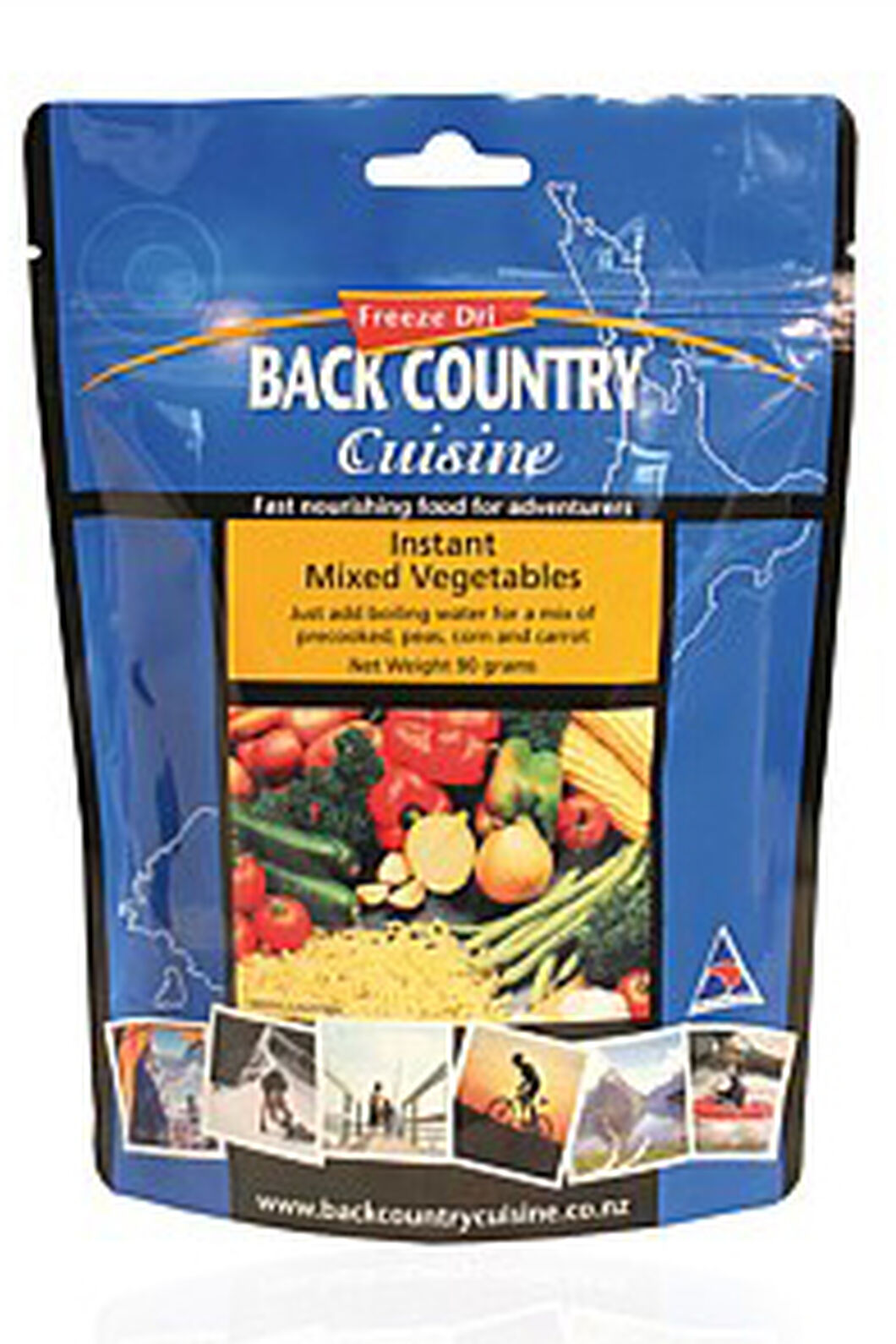 Back Country Instant Mixed Vegetables, None, hi-res