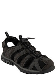 Hi-Tec Cove Junior Sandals — Kids', Black/Charcoal, hi-res