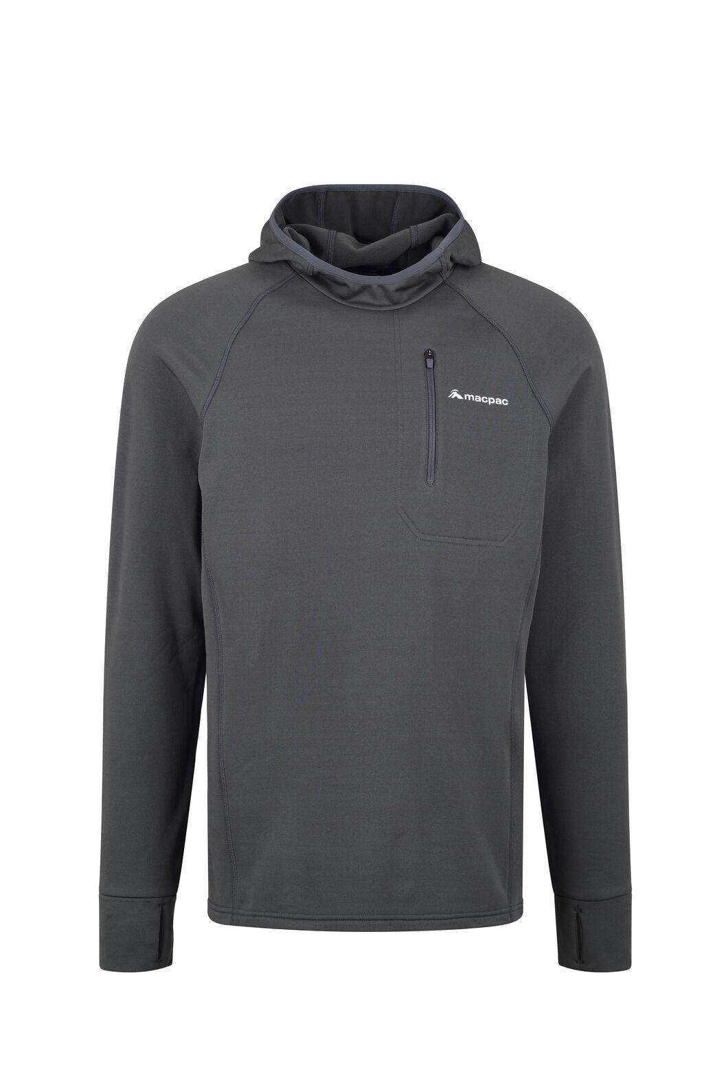 Macpac Traction Pontetorto® Pullover Hoody - Men's, Asphalt, hi-res