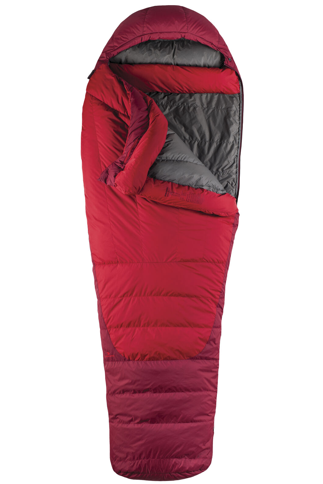 Macpac Latitude XP Goose Down 500 Sleeping Bag - Women's, Chilli, hi-res